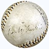 Babe Ruth Signed American League Baseball New York Yankees Graded 4 - Certified Genuine Autograph By PSA/DNA - Autographed Baseball