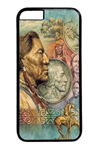 Five Cent Peace Native American PC for Case For Ipod Touch 4 Cover inch Black