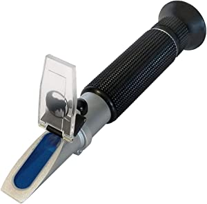 0-10% Brix & Cutting Fluid, Rhino Handheld Refractometer with Automatic Temperature Compensation (Copper) Accuracy 0.1%