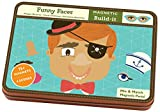 Mudpuppy Funny Faces Magnetic Build-its