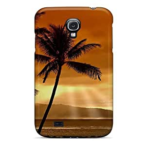 Mialisabblake Design High Quality Palms Sunset Cover Case With Excellent Style For Galaxy S4