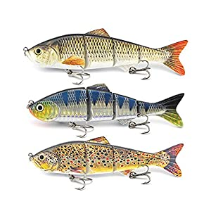ods lure 4 Sections Multi Jointed...