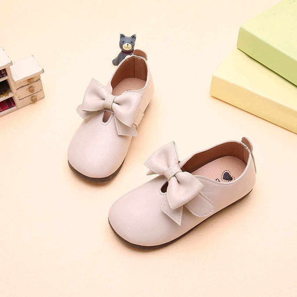 TeasyDay Bowknot Schuhe Baby-M/ädchen-weiche Tanzprinzessin Schuhe Kinder Schule Schuhe Kinder Student Single Schuhe