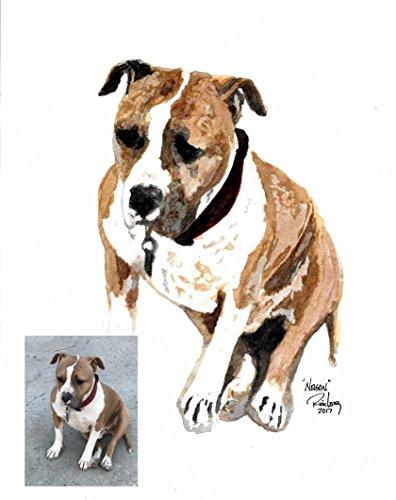 Original Dog Pop Art - 50% OFF SALE!! ORIGINAL HAND MADE CUSTOM CREATED 9