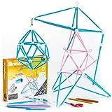 Strawbees STEM Maker Kit | Educational 200 pcs...