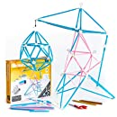 Strawbees STEM Maker Kit | Educational 200 pcs Construction Set [ Kids +5 ] Creative Open-Ended Projects