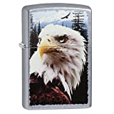 Zippo Eagle Pocket Lighter, Street Chrome