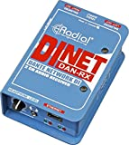 Radial DiNET DAN-RX 2-Channel Dante Network Receiver