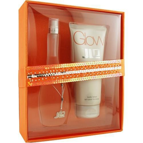 Glow By Jennifer Lopez For Women. Set-edt Spray 3.4 OZ & Body Lotion 6.7 OZ
