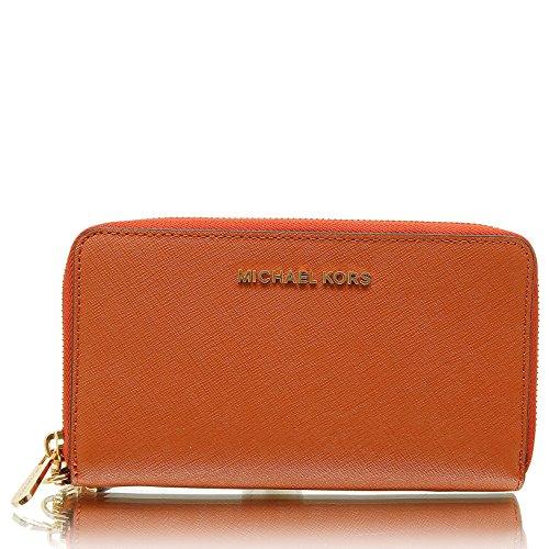 Michael Michael Kors Womens Jet Set Travel Large Leather - Michael Case Iphone Kors Wallet 4