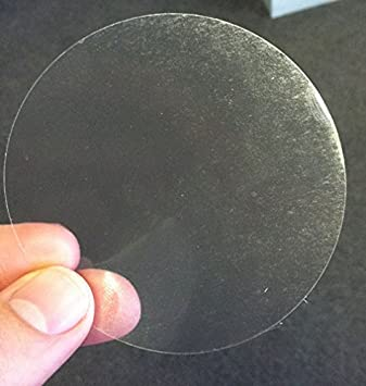 Ultra Clear Retail Envelope Seals for Mailing Packaging 3 Inch 500 Adhesive Stickers