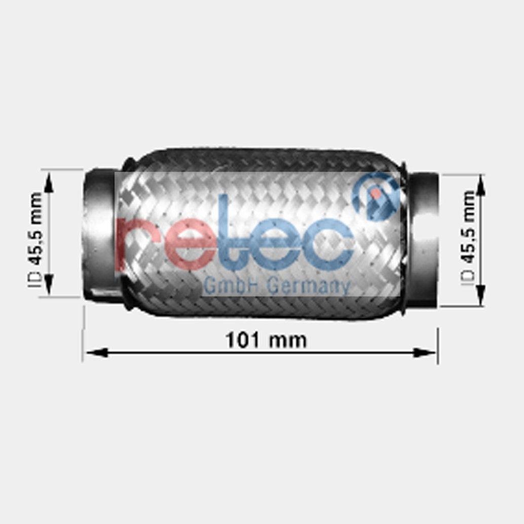 Abgasanlage 0746.101 retec Flexrohr