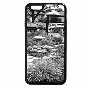 iPhone 6S Case, iPhone 6 Case (Black & White) - Front Yard