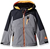 ZeroXposur Little Juvi Boys Spur Softshell Jacket, Iron, Large