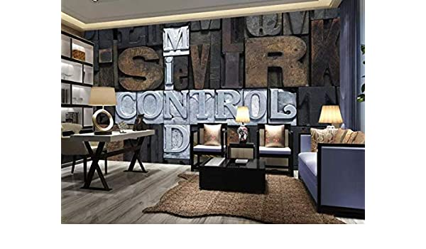 Amazoncom Murwall Poster Wallpaper Mind Control Wall Mural