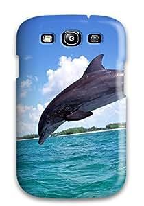 Excellent Design Dolphins Phone Case For Galaxy S3 Premium Tpu Case