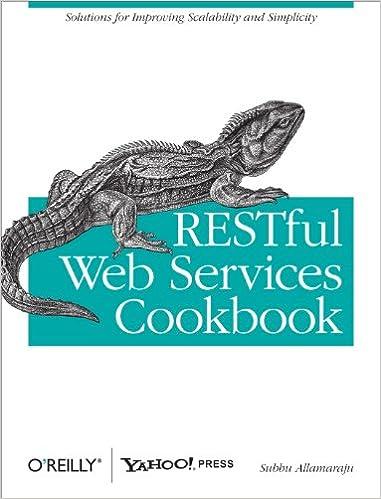 RESTFUL WEB SERVICES COOKBOOK EPUB