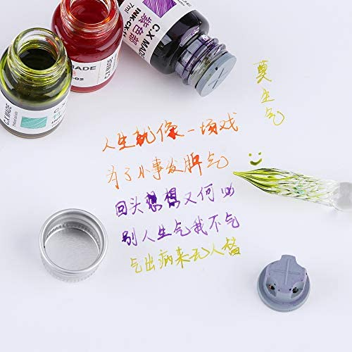 Dipping Writing Glass Dip Pen Fountain Pen Painting Supplies Filling Ink