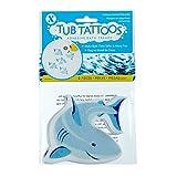 SlipX Solutions Adhesive Bath Treads: Shark Tub