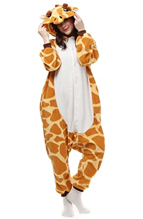 2e7fab4d2ff0 Amazon.com  OLadydress Cute Giraffe Costumes Pyjamas