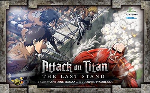 Attack Board Game (Attack on Titan: The Last Stand)