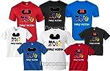Disney Family Vacation 2016 T-Shirts Matching Cute Mickey T-Shirts (L Adult Mickey, Blue)
