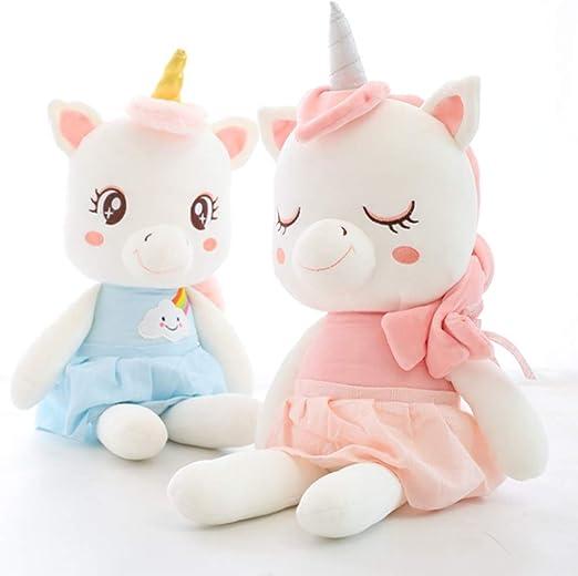 LCCYJ Juguete de Peluche Unicornio Lindo Abajo algodón niña ...