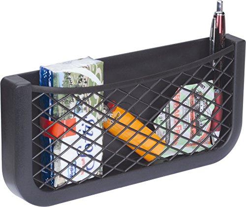 51Q URyEW5L HR Universal Auto Ablagenetz 25cm - Netz Tasche zum Verstauen und Sortieren im Fahrerraum - Schwarzes Ablagefach aus…