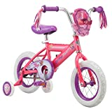 Nickelodeon Paw Patrol Bicycle for Kids, Featuring Skye on a Pink Steel Frame, Includes Training Wheels, 12-Inch Wheels