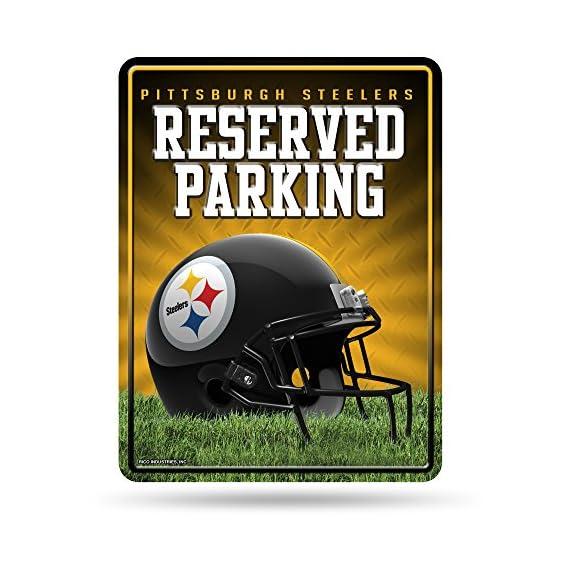 Rico NFL Hi-Res Metal Parking Sign