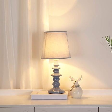 Amazon.com: Dkdnjsk - Lámpara de mesa de cerámica hecha a ...