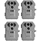 Stealth Cam P14 7MP Infrared Game Trail Camera, 4 Pack