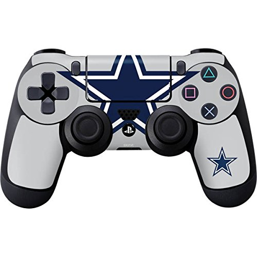 Cowboy Accessory (Skinit Dallas Cowboys Large Logo PS4 Controller Skin - NFL Skin - Ultra Thin, Lightweight Vinyl Decal Protection)