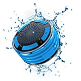 JCT Alliance™ Certified Waterproof Bluetooth Speaker, Portable Wireless Shower Speaker, FM Radio & LED Mood lights, Excellent HD Sound, Bath, Tub, Pool, Beach, Kitchen & Outdoor Fun