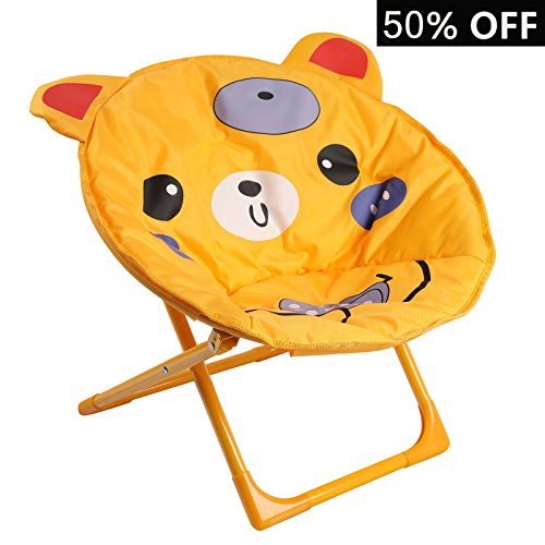Goldsun Lovely Child Moon Chair for Indoor and Outdoor Use-Bear Design Chair for Child by Goldsun