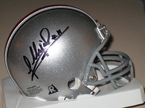 Anthony Gonzalez #11 signed Ohio State Buckeyes OSU Mini Helmet (Osu Helmet)