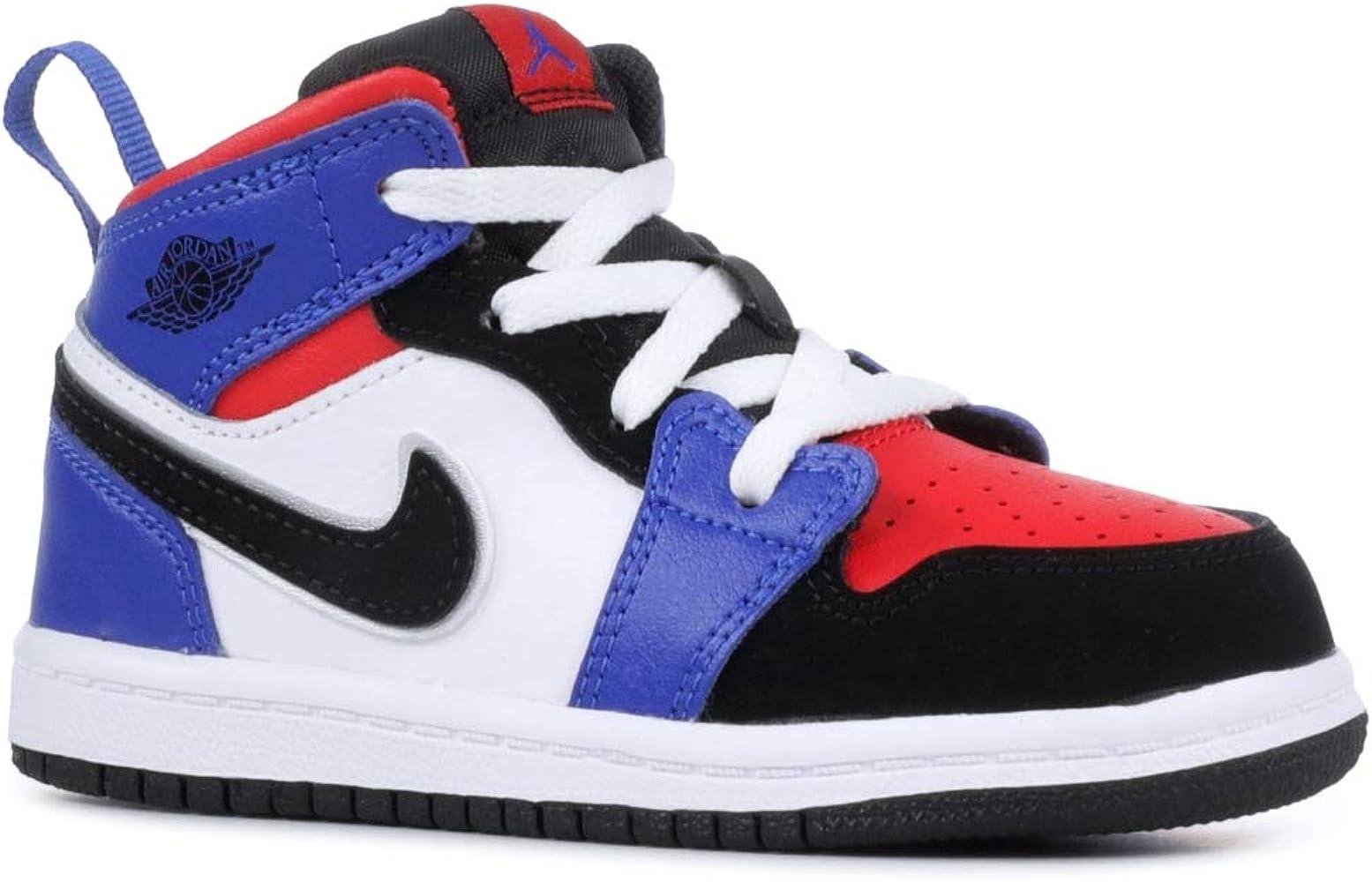 1fa6951403961 Amazon.com   Nike Jordan 1 MID (TD) Baby-Boys Fashion-Sneakers ...