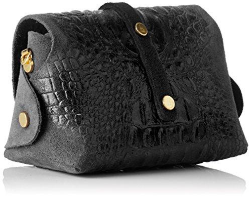 10031 Chicca Chicca Borse Borse Bag Women's Shoulder Nero Black zqgZqwI