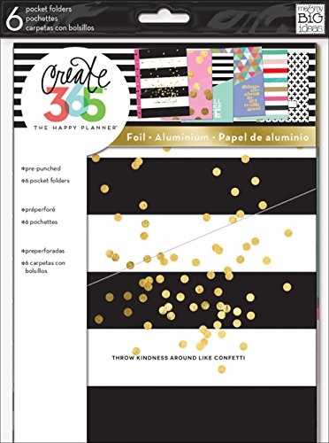 me & my Big ideas Create 365 The Happy Planner Pocket (Dot Border Photo Cards)