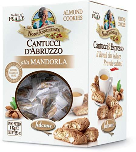 Wrapped Slices Individually (Nonna Annunziata Cantuccini D'Abruzzo Almond Biscotti (35.3 ounce Box))