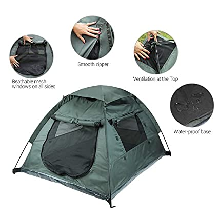 Pop Up Lumsing Outdoor Pet C&ing Tent  sc 1 st  Sleeping With Air & Best Tents For Dogs u2013 My Top 5 Reviews | Sleeping With Air