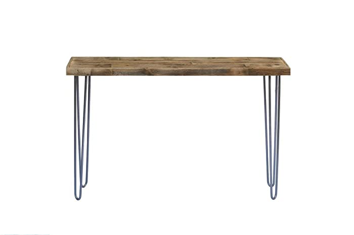 new concept 2a85a fe66c Industrial 46 Inch Natural Console Table