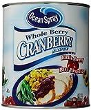 Ocean Spray Whole Sauce, Cranberry, 117 Ounce