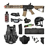 Valken Tactical Valken Battle Machine Trg-L Storm Trooper Airsoft Rifle Package
