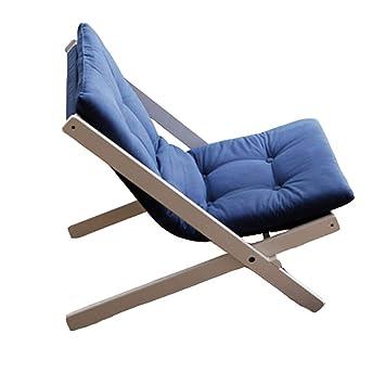 TLMYDD Lazy Couch Einzelzimmer Schlafzimmer Freizeit Balkon Sofa ...
