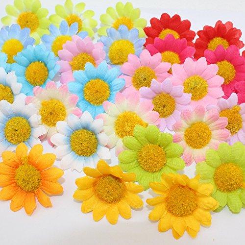 50Pcs/Lot Multicolor Artificial Gerbera  - Gerbera Wedding Cake Shopping Results