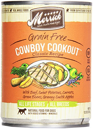 Merrick, Canned Dog Food, 5-Star Cowboy Cookout 13.2 oz.