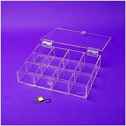 Faberplast FB1120 - Caja exposición, color transparente: Amazon.es: Oficina y papelería
