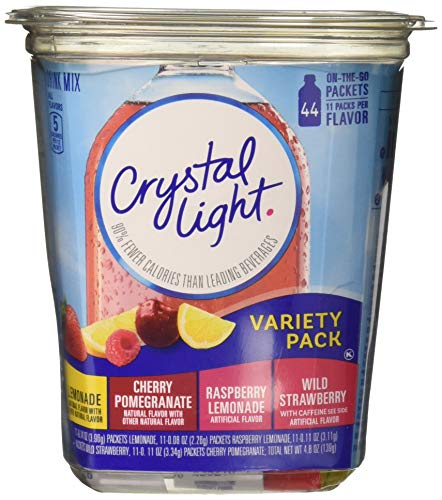 (Crystal Light Variety Pack Drink Mix (44 On the Go Packets))