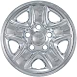 "Bully Imposter IMP-77X, Toyota, 18"" Chrome Replica Wheel Cover, (Set of 4)"